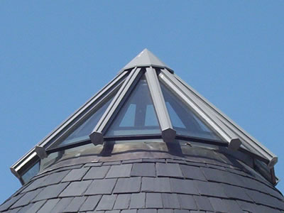 multi section hipped roof lantern