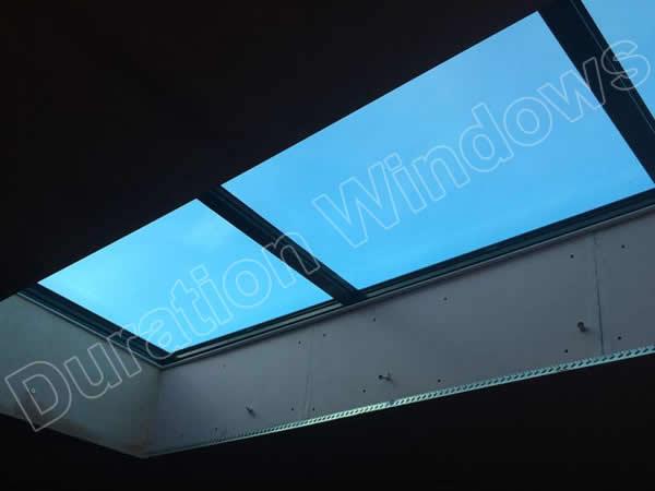 Aluminium Low Lying Flat Roofs Slim Flat Roof Lanterns
