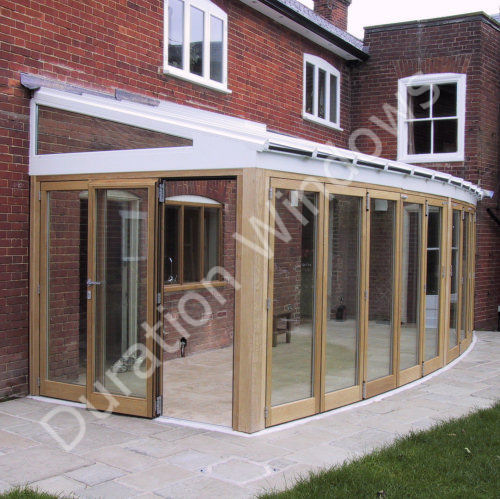 Aluminium roof gallery roof lanterns conservatories for Lean to garden room
