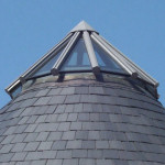12 sided roof lantern on pitched roof